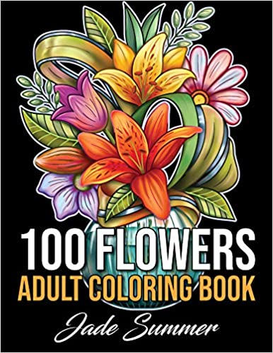Book Cover: 100 Flowers